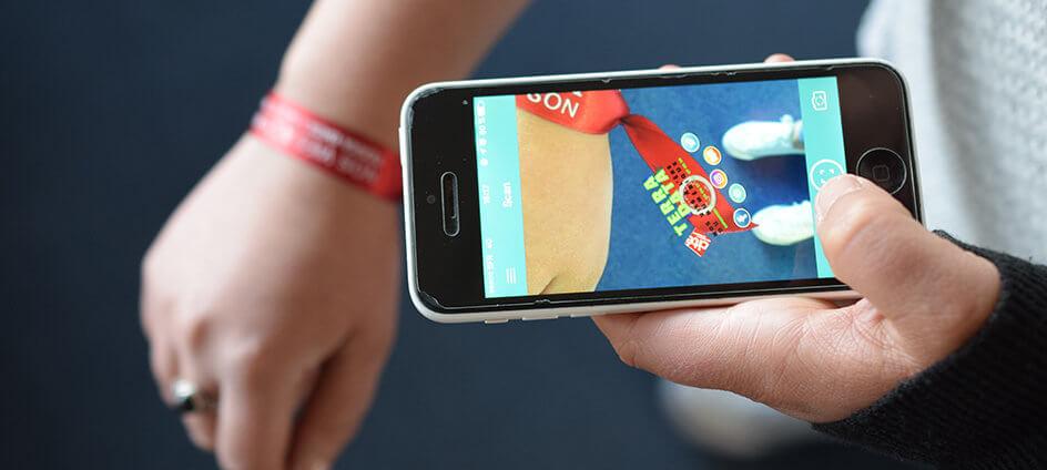 bracelet connecte avec realite augmente bleam