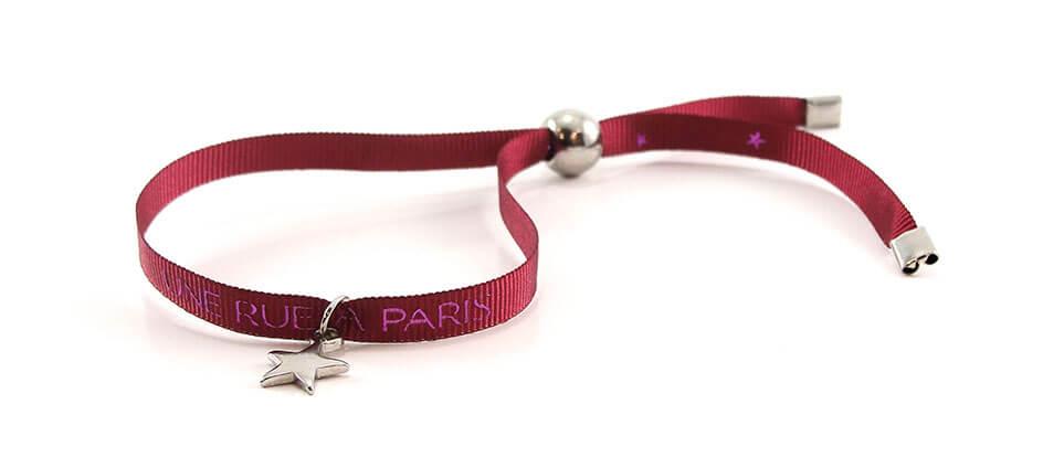 bracelet personnalisé pampille