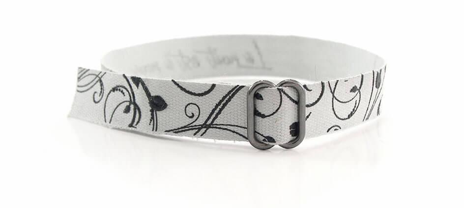bracelet personnalisé textile imprimé