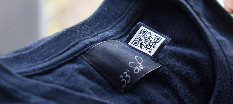 etiquette qr code noir et blanc