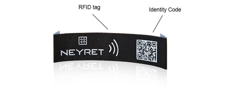 etiquette technologique puce rfid qrcode