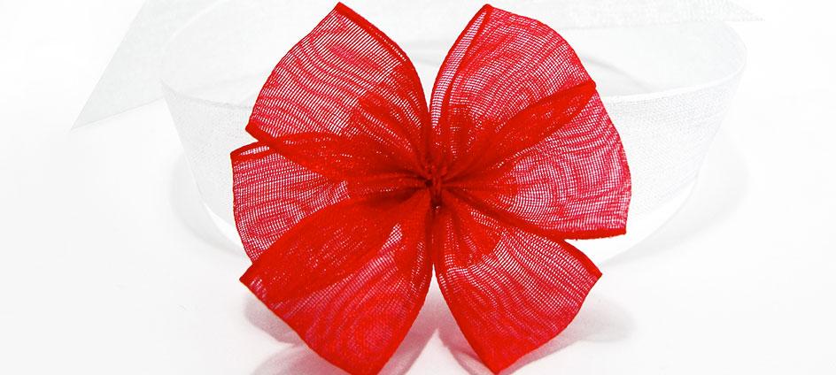 blotters textile bracelet et noeud ruban