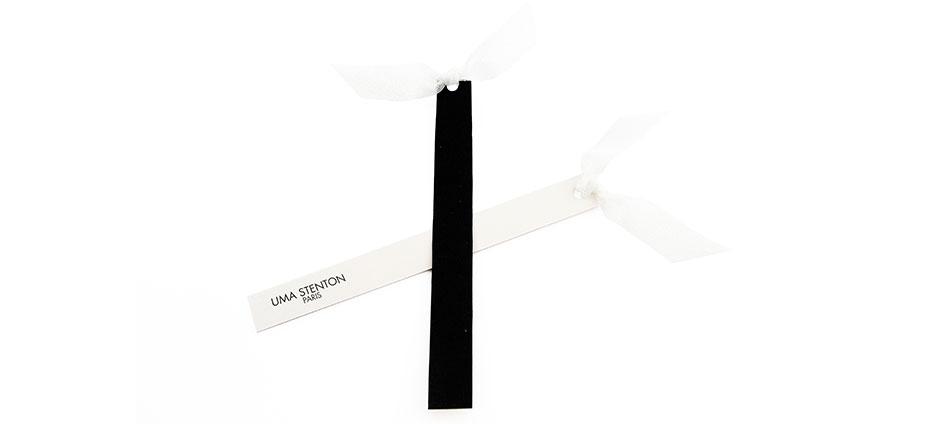 blotters textiles papier noir et blanc