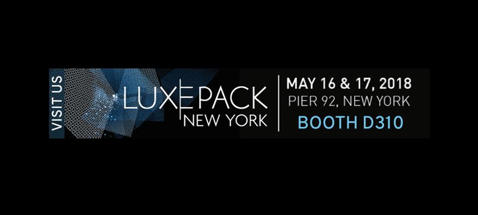 Salon LuxePack New-York 2018