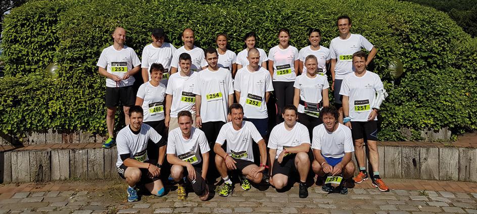 Photo d'équipe Neyret Sports Team à la Corporace