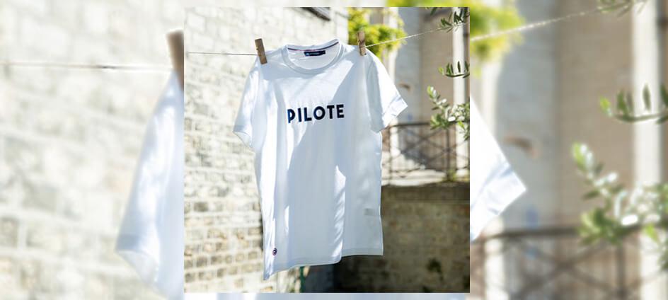 étiquettes tissées sur t-shirt le slip français