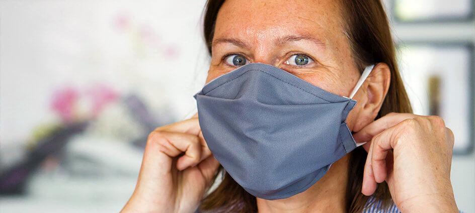 masque solidaire lavable neyret