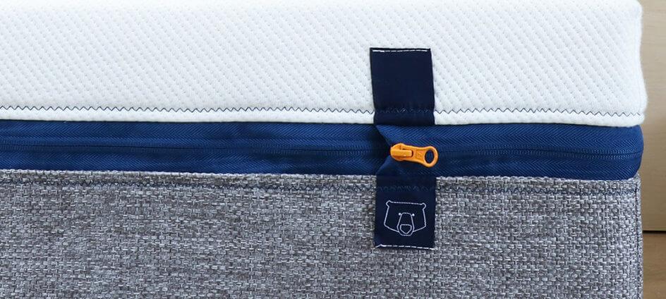 étiquette tissée tediber matelas