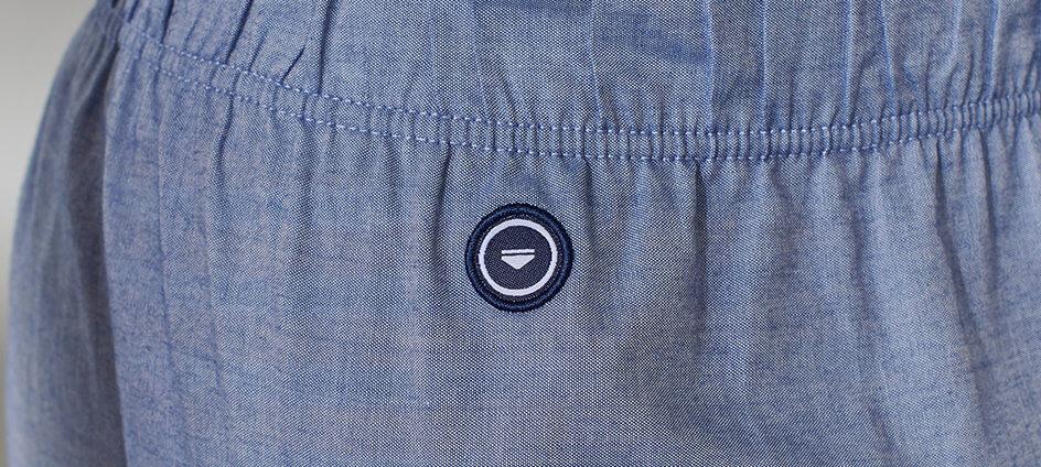 cocarde tissée polyester recyclé le slip francais